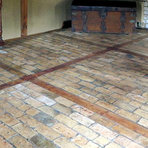 Historische Bodenplatten