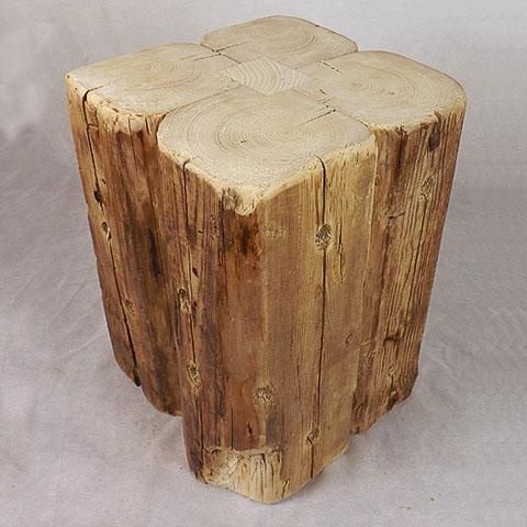 Beistelltisch aus antiken Holz